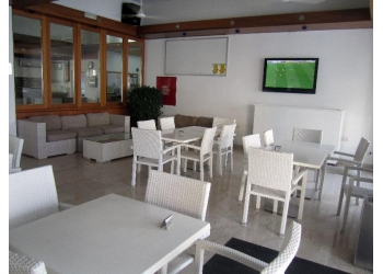Main sitting and TV area